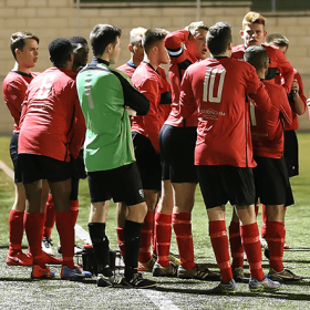 Campion-U21-team-talk